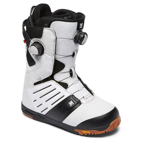 dc judge boa side view Mens Boa Boots white
