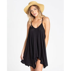billabong twisted view 2 front view Sun Dresses black