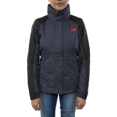 the north face resolve insulated jacket front view Womens Isulated Jackets grey/black