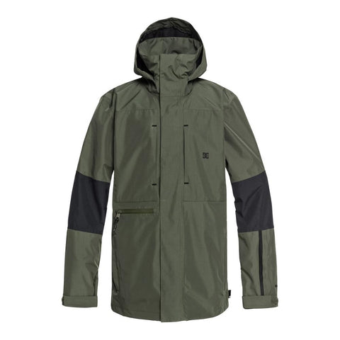 EDYTJ03077-GQM0, Beetle, Olive, DC, Command Jacket, Mens Snowboard Jackets, Mens Outerwear, Winter 2020