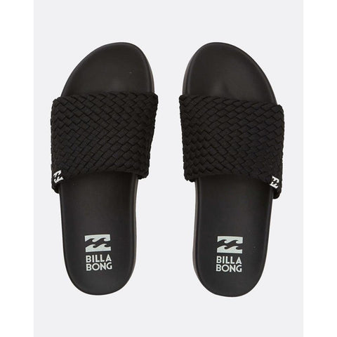 billabong surf retreat top view Womens Fashion Sandals black/white
