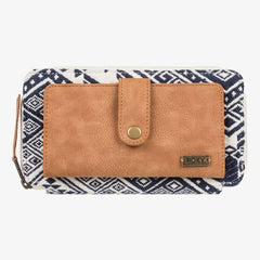 Roxy Natural Zip Around Wallet