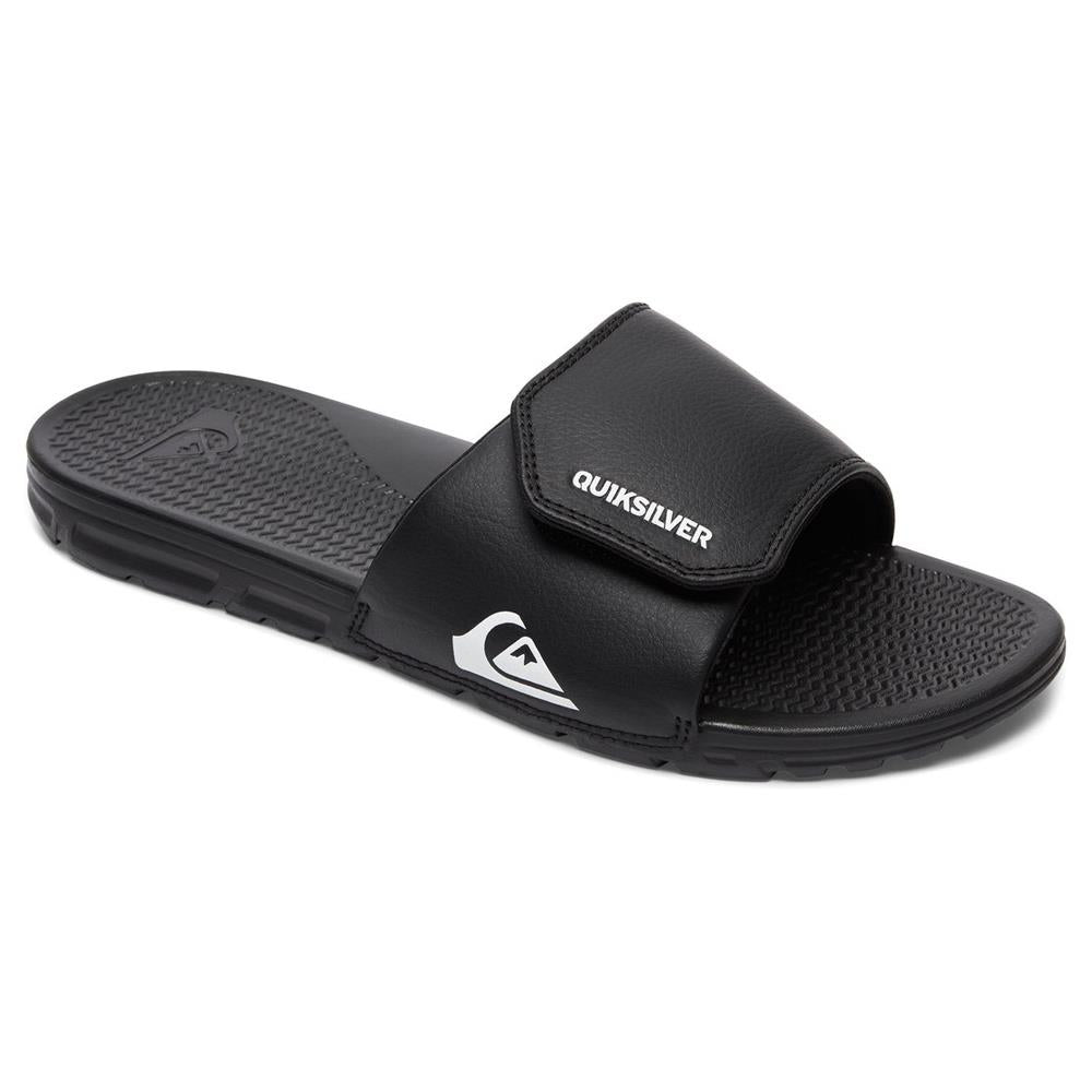 QUIKSILVER SHORELINE ADJUST YOUTH SLIDES SANDALS