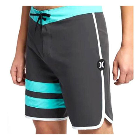 "AQ9986, Phantom Block Party Solid 18"", Mens Boardshorts, hurley, 060, anthracite, black"