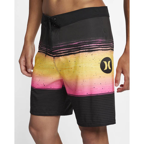 "AQ9994, Hurley, Phantom Overspray 18"", Mens boardshorts, black, 060, anthracite"