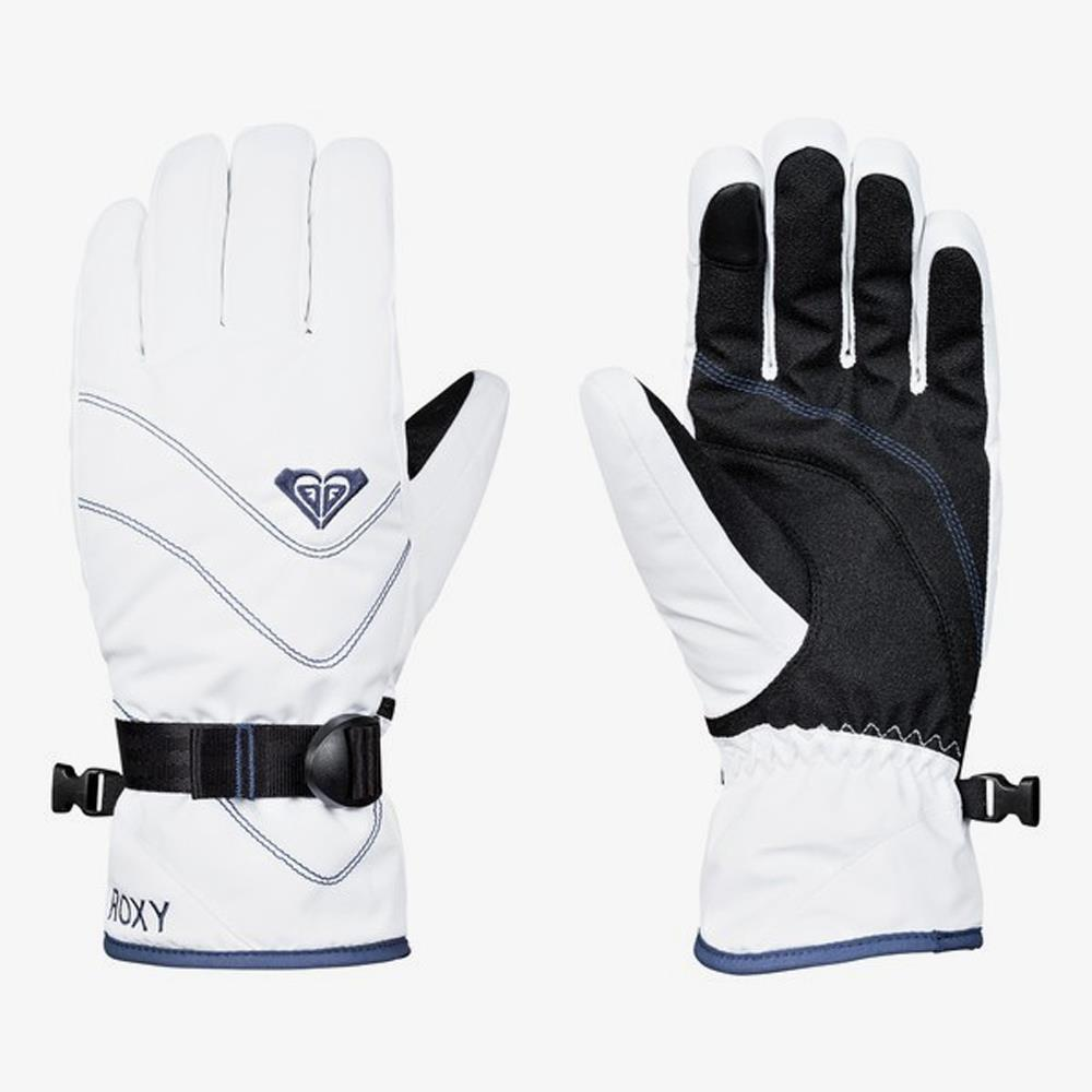 ERJHN03098-WBB0, Bright White, Roxy, Jetty Gloves, Womens Gloves, Womens Outerwear, Winter