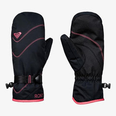 ERJHN03104-KVJ0, True Black, Black, Roxy, Jetty Mitts, Womens Mitts, Womens Outerwear, Winter