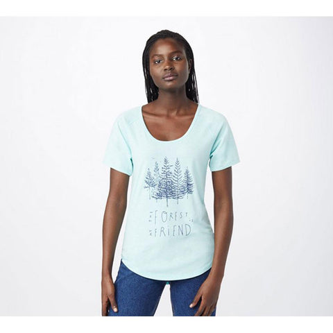 Ten Tree Forest T Women Short Sleeve Shirt
