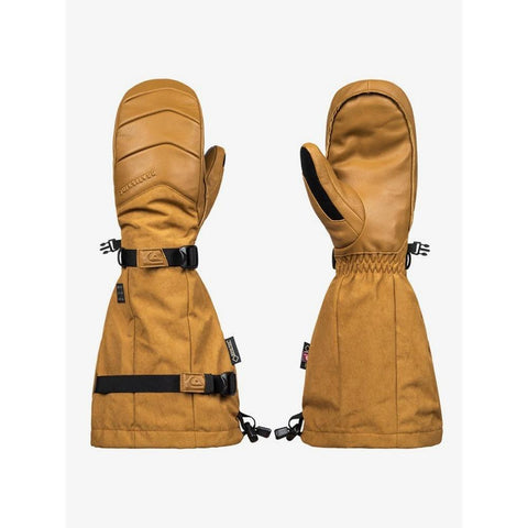 EQYHN03103-CPD0, Golden Brown, Tan, Quilsilver, Powder Snowboard / Ski Mitts, Mens Mitts, Mens Outerwear, Winter 2020