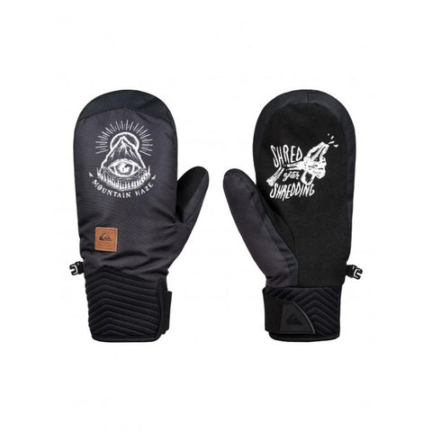EQYHN03109-WBK5, Black, White Mountain Haze, Quiksilver, Method Mitts, Mens Mitts, Mens Outerwear, winter 2020