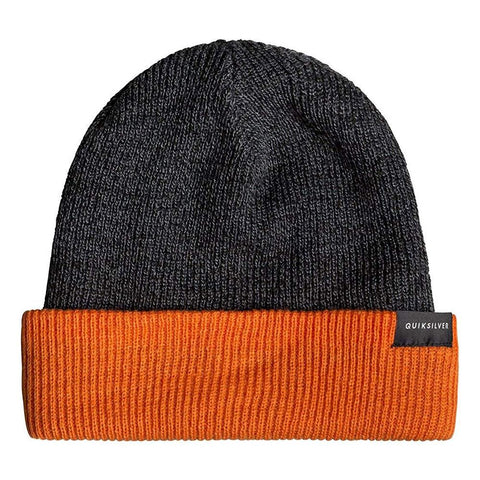 Quiksilver Performed Color Block Reversible Cuff Beanie
