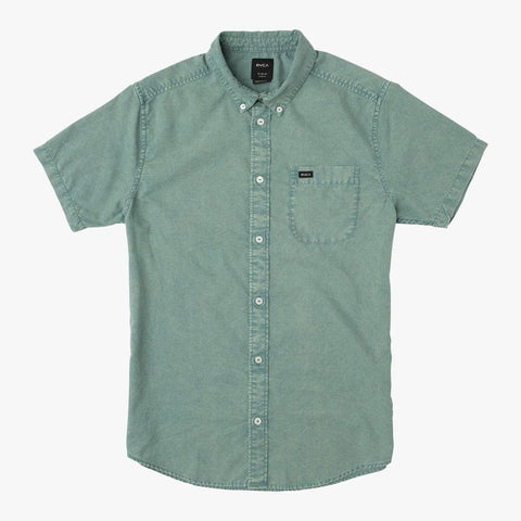 RVCA Boys That'll Do Washed Button Up Shirt