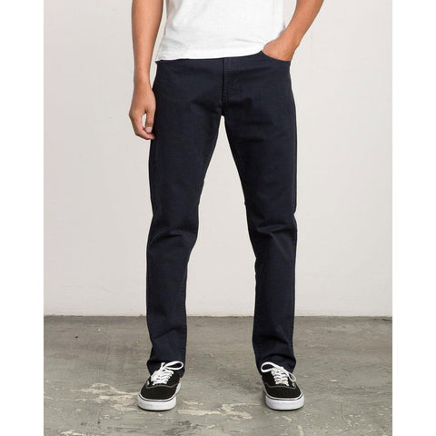 RVCA Daggers Slim Straight Twill Pants