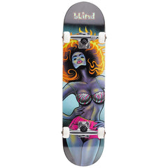 Blind, Blacklight girl fp complete, complete skateboards, black, 10511861