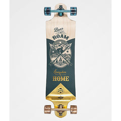 "Dusters, Roam Longboard Compelte, 38"", Gold/Green, 10531431, bottom view"