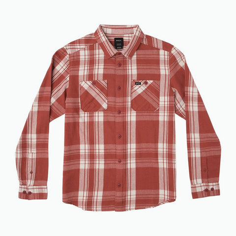 RVCA Wanted Flannel Long Sleeve Shirt