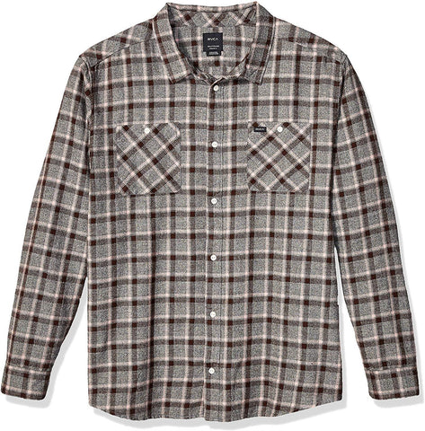 RVCA Hero Plain Long Sleeve Shirt