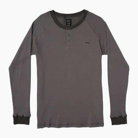 RVCA Moorside Thermal Henley Shirt