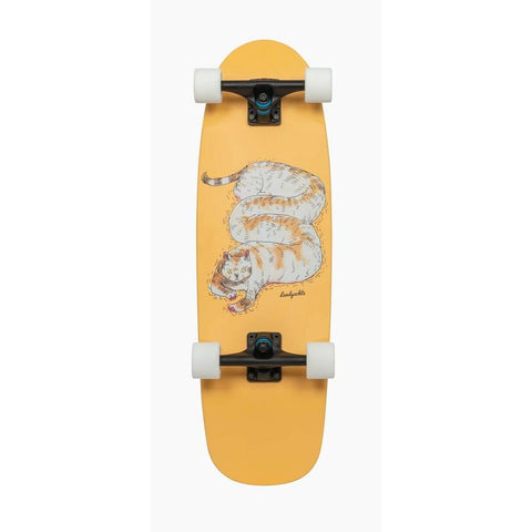 "Landyachtz, Tug Boat Chill Cat Complete, Yellow, 33"", 119CP-UBTBCCT, Bottom view"