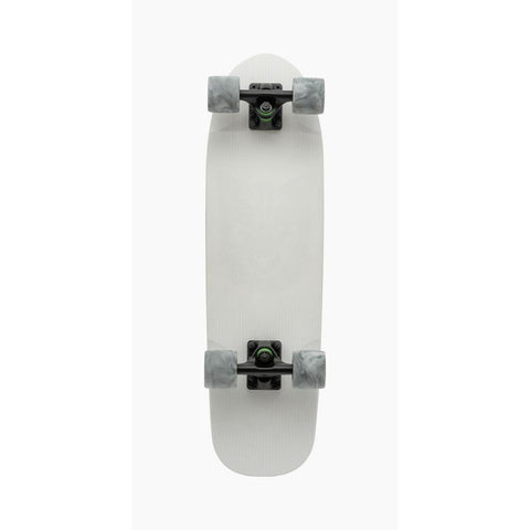 "119CP-UBDYAFX, Landyachtz, Artic Fox Complete, White, 28.5"", Bottom View"