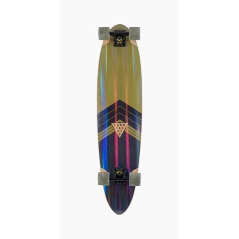 119CP-FRCHFSPR, Landyachtz, Super Chief Complete, Longboard Complete, Multi, Rainbow, bottom view