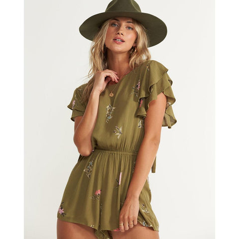 Billabong Heavenly Fields Romper