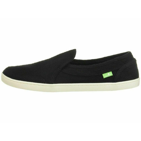 1100639-blk, Hemp Black, Sanuk, Pair O Dice, Womens Slip on Shoes, Spring 2020