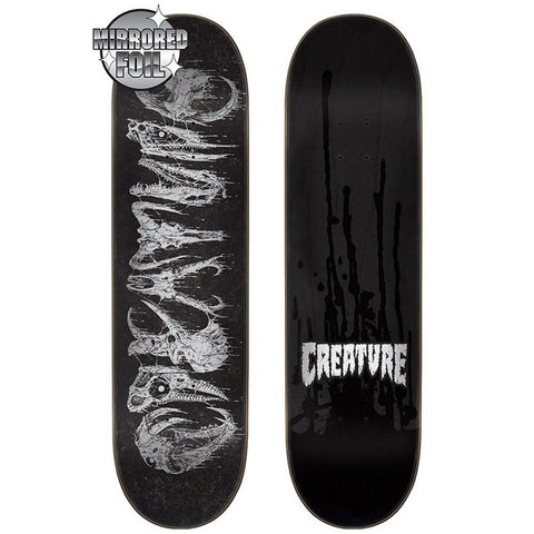 Creature Team Skulls Skateboard Deck
