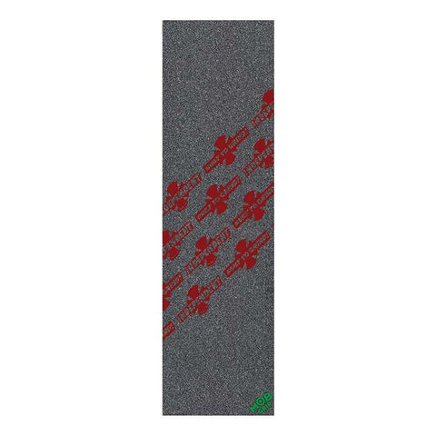 "88482849, MOB grip, Indy Stampede Grip Sheet, 9"" X 33"", Black, Red"