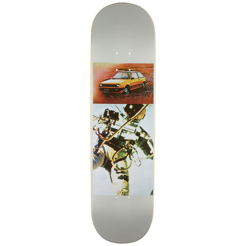 Quasi, Jake Johnson Colt Grey Skateboard Deck, Grey, Bottom View