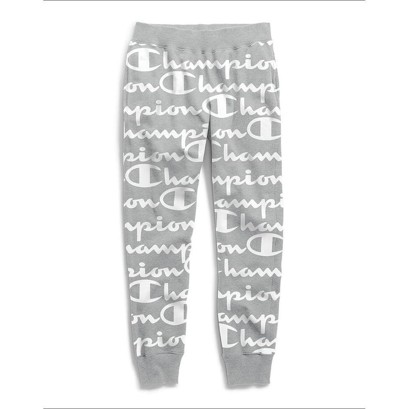 Champion, Reverse Weave Jogger- AOP, all over print, grey, P3700