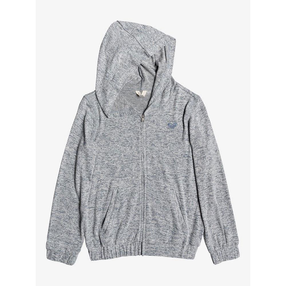 Roxy Youth Rainbow Moon Super Soft Zip Up Hoodie