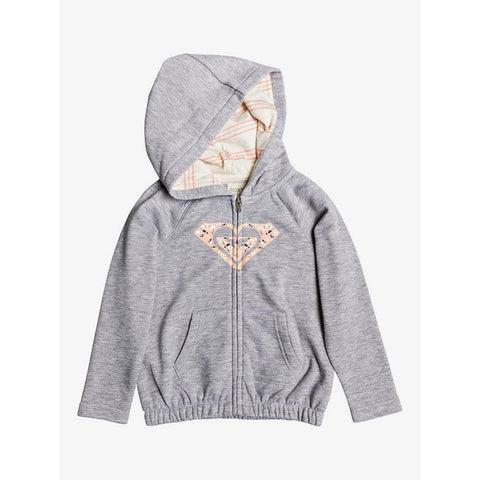 Roxy Girls Lazy Love Zip Up Hoodie