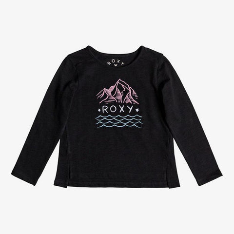 Roxy Girls Blossom Roses Calm Mountain Long Sleeve