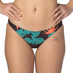 Hurley, Quick Dry Hanoi Surf Bottom, Womens Bikini Bottoms, Black, AT1797-010