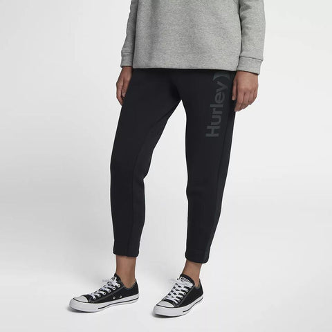 Hurley, One and Only Fleece Joggers, Womens Sweatpants, Black AJ3566-010