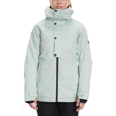L9W311, RUMOR INSULATED JACKET, WOMENS OUTERWEAR, 686, WINTER 2020, CRYSTAL GREEN SLUB