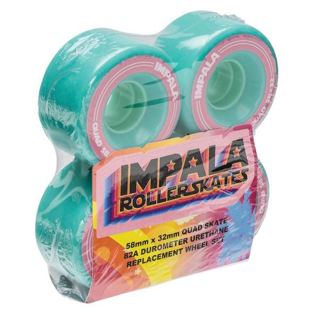 AQUA, Impala Roller Skates, Replacement wheels 4pack,