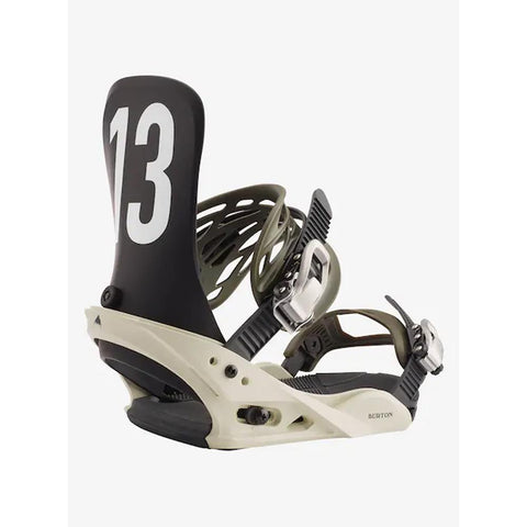 10546106990, OFF WHITE/BLACK, BURTON, MENS MISSION SNOWBOARD BINDINGS, MENS RATCHET STRAP BINDINGS, WINTER 2020