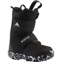 10645103001, Burton, Mini Grom, Kids Snowboard Boots, Black, Winter 2020