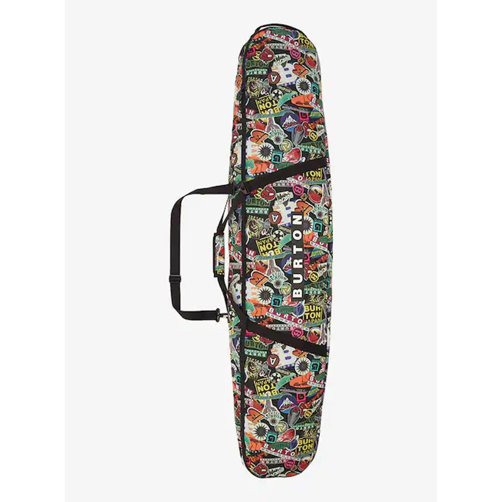 10992106962, Burton, Stickers Print, Space Sack Snowboard Bag, Multi Colored, winter 2020