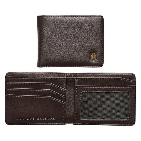C2964-400-00, Brown, Nixon, Cape Vegan Leather Wallet, Mens Wallets