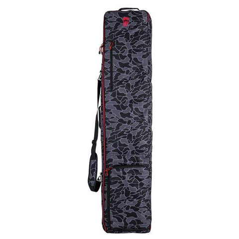 19bg3001010-blk/gry Rome SDS Cache Snowboard Bag black/grey front