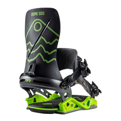 19bn3001-blk/grn Rome SDS Katana Limited Edition Bindings black/green side
