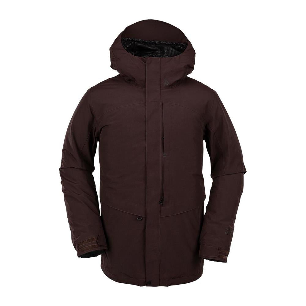 G0452001-BRD, Red, Black, Volcom, TDS 2L Gore-Tex Jacket, Mens Winter Jackets, Mens Outerwear, Winter 2020