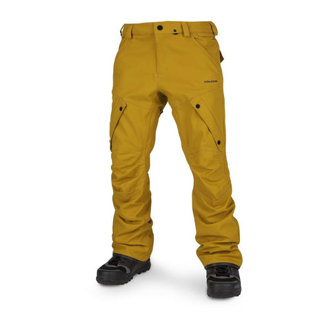 G1351908-RSG, gold, Volcom, Articulated Pant, Mens Outerwear, Winter 2020, Mens Snowpants