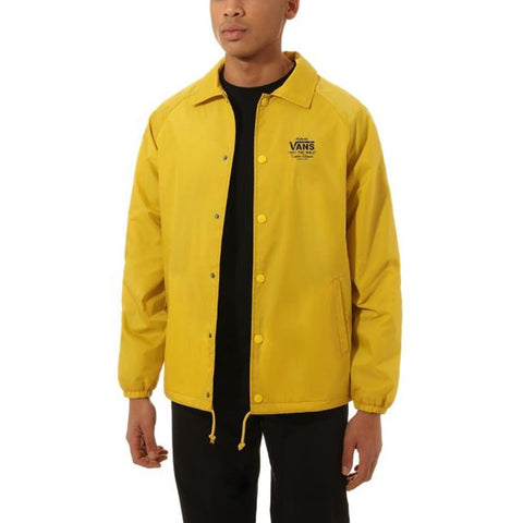 VN0002MU-D20, SULPHER, YELLOW, VANS TORREY JACKET, MENS WINDBREAKERS, FALL 2019