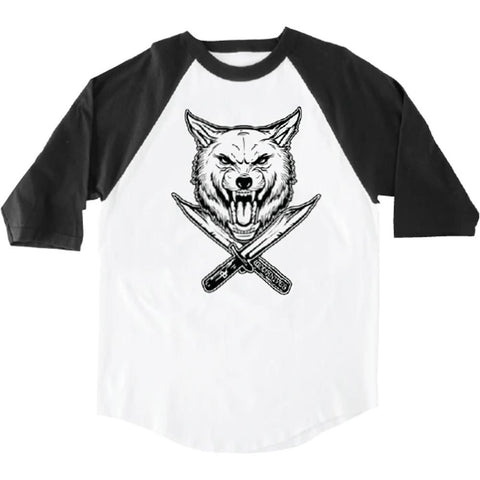 RDS Wolfknives Wolf 3/4 Sleeve Banger Shirt
