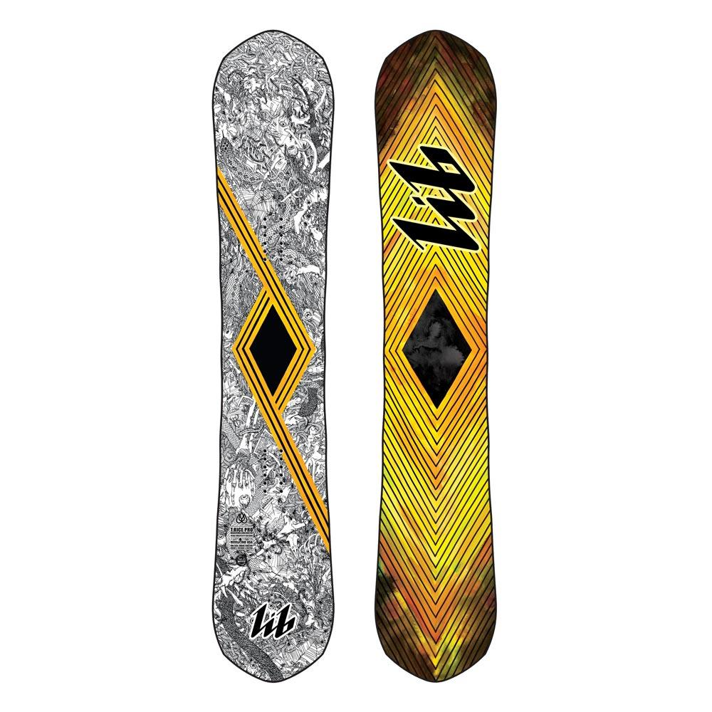 19SN070, Lib Tech, T.Rice Pro Pointy, Yellow, Black, White, Mens All Mountain, Freestyle Twin