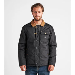 Roark, RJ196.BLK, Axeman Jacket, Mens Winter Jackets, Winter 2019, Front view